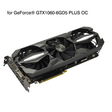 Brand New GTX1060-6GD5 PLUS OC Computer Independent Game Graphics Card GTX1060 6GB GDDR5 4 Fan 10 Phase Power Supply for Zotac