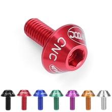Велосипедный держатель для бутылки с водой крепежные болты 12 мм винт с шестигранной головкой для установки велосипедной клетки для бутылок 7 цветов Велоспорт