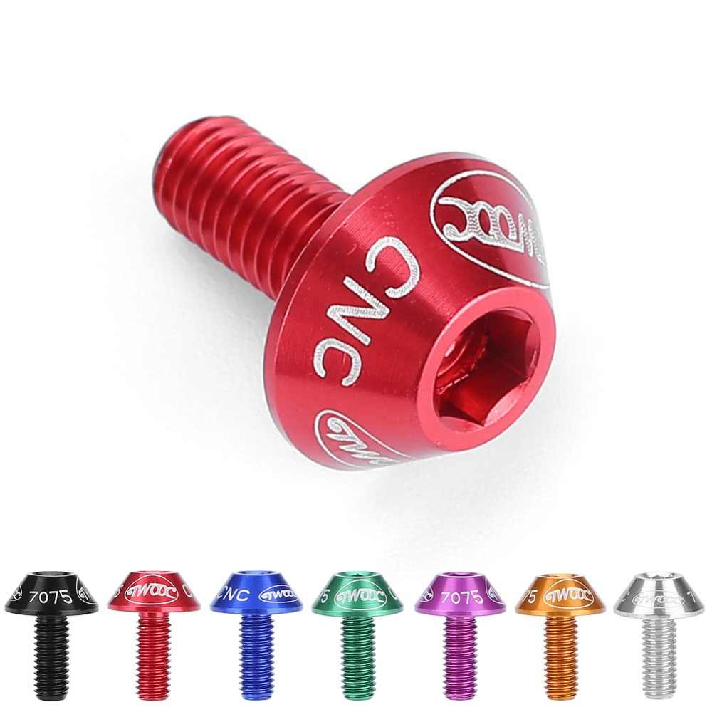Bicycle Water Bottle Holder Mount Bolts 12mm Screw Hex-headed to Install Bike Bottle Cage Rack 7 Colors cycling