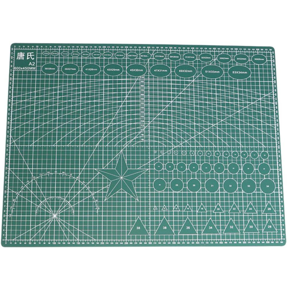 A2 / A3 / A4 Double-sided PVC Cutting Mat Flexible Self-healing Cutting Mat Quilting Tool Manual DIY Accessories Cutting Board