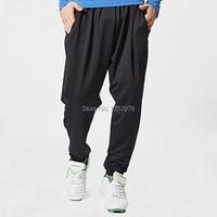 New Brand Men Sport Harem Pants Dance Hip top Yoga Athletic Long Pants Gym Fitness Loose Trousers Big Sizes M XXL, Free Shipping