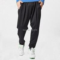 New Brand Men Sport Harem Pants Dance Hip-top Yoga Athletic Long Pants Gym Fitness Loose Trousers Big Sizes M-XXL, Free Shipping