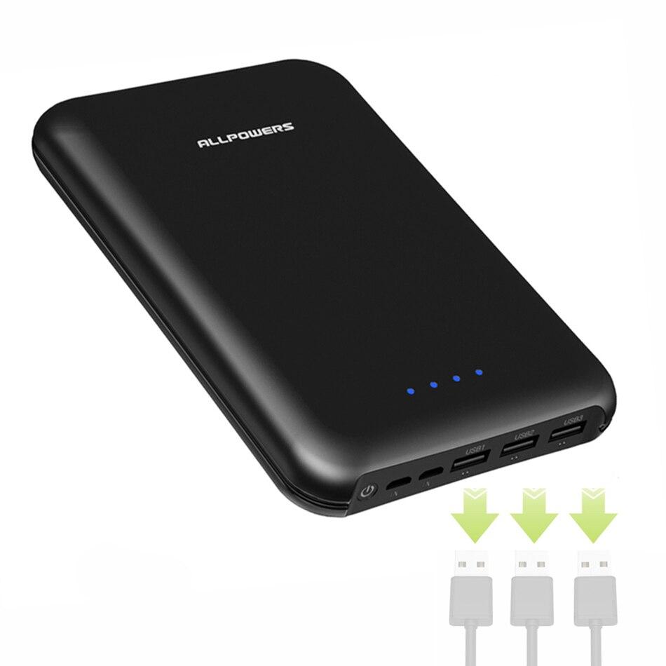 30000 mAh batterie externe Triple USB pour Huawei P30 Mate20 iPhone X Xr Xs max Samsung s8 s9 Galaxy Note 7 8 etc.