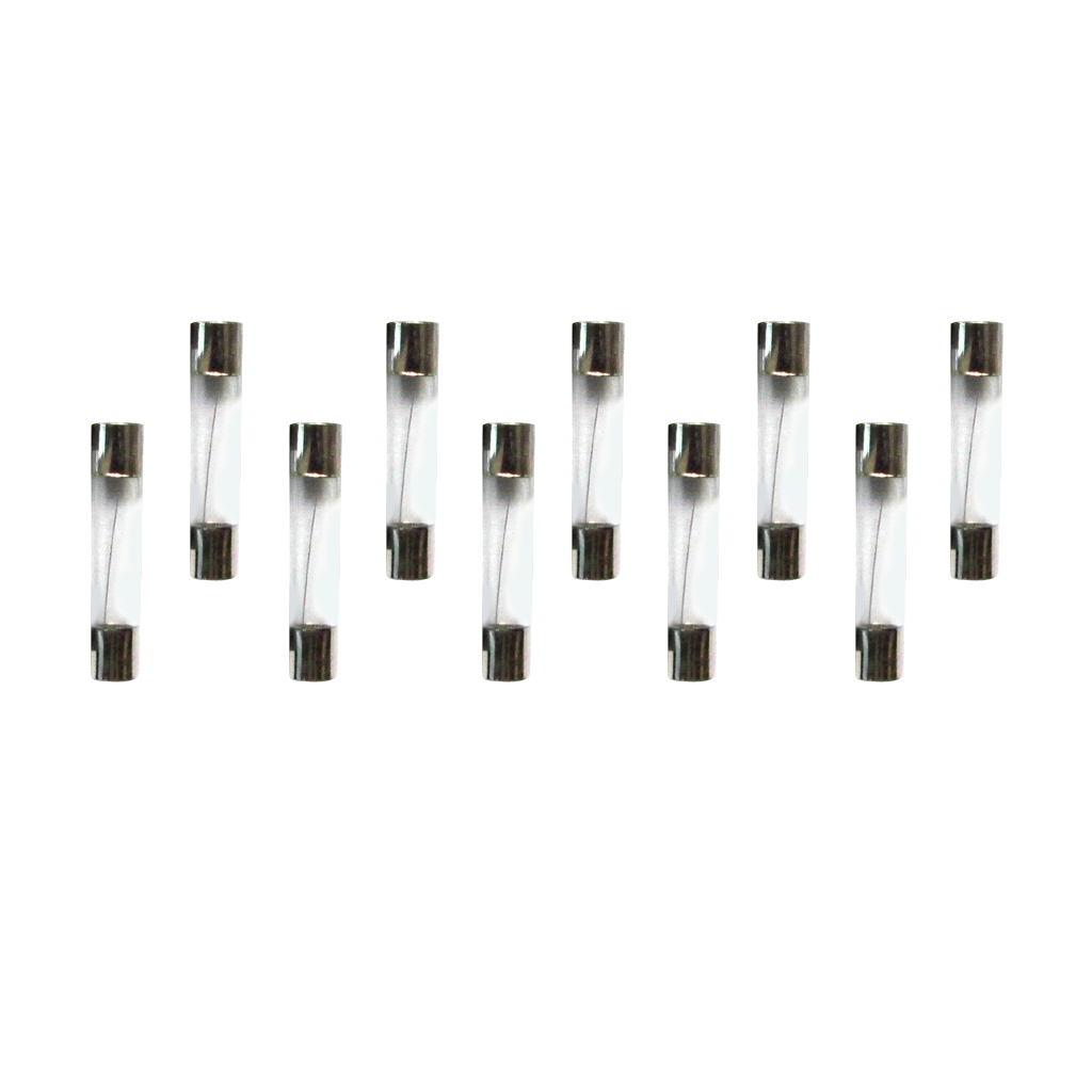 10pcs 250v 30a Fast Quick Blow Glass Fuse Tube 6x30mm Overcurrent Protection In Fuses From Home