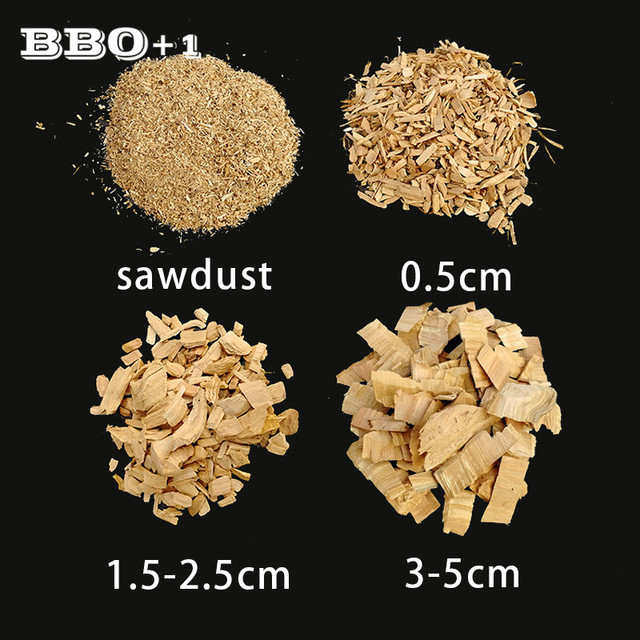 Apple Wood Chips for Cold Smoke Generator 450g Smoking Sawdust Mini Wooden BBQ Grilling Chunks Flavor Bacon Fish Cooking Tools