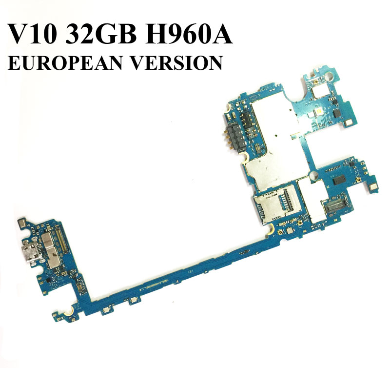 Unlocked Ymitn Mobile Electronic panel mainboard Motherboard Circuits Cable With 6.0 Firmware For LG V10 H960A H960 32GB