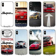 befe6a530973 Super Cars Red Car Tuned Supra silicone TPU Soft phone cover case For Apple  iPhone 4