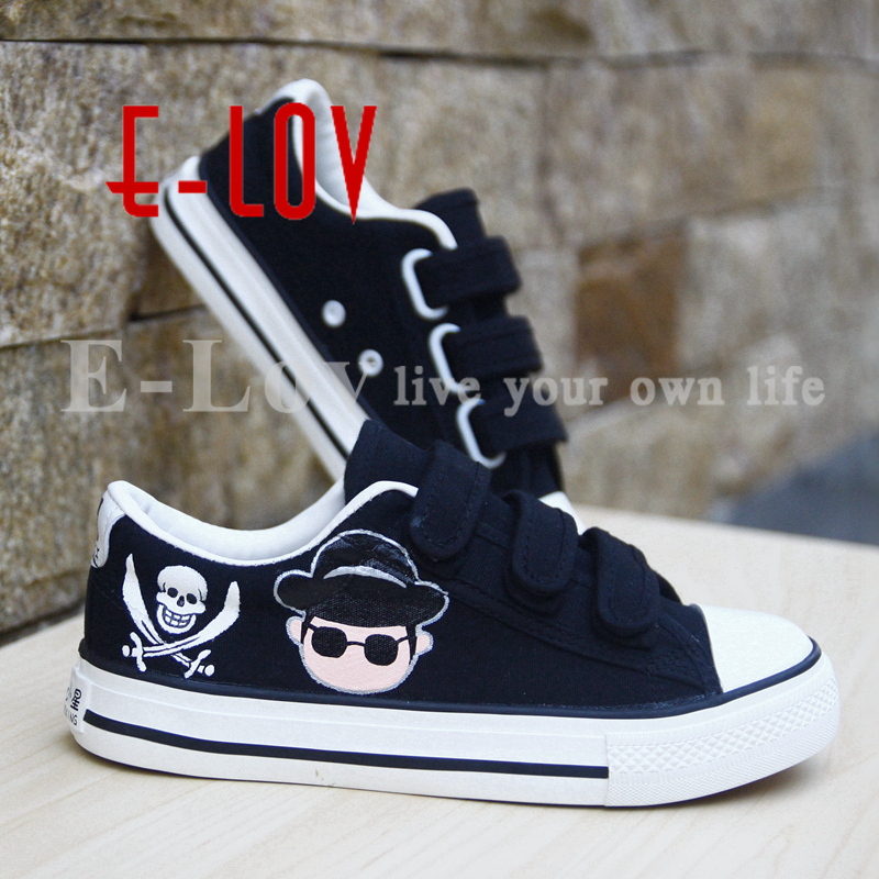e79117d097d Women Casual Canvas Shoes Hand Painted Animals Shoes Girl Students School  Leisure Flats Breathable High-Top Shoes