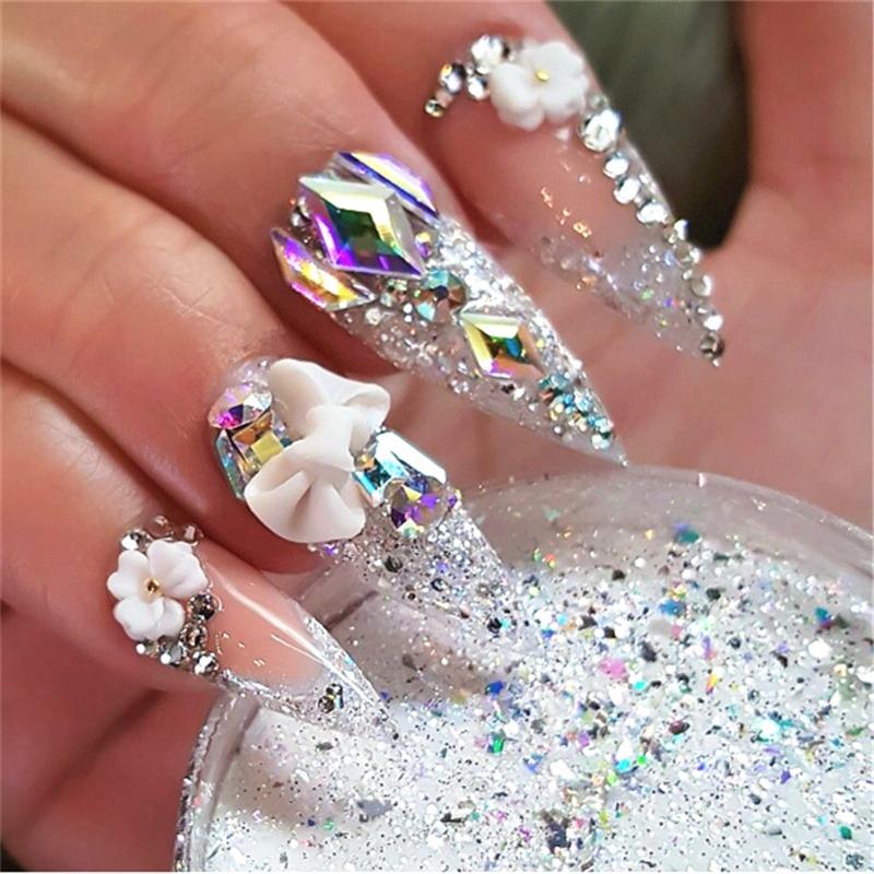 Us 096 33 Offnail Art Rhinestone Gel Glue Super Sticky Adhesive Uv Gel Nail Polish Glue For Diy Nail Art Crystal Gems Jewelry Decoration In Nail