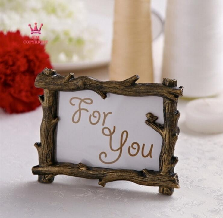 10pcs Mini Retro Branch Photo Frame For Wedding Baby Shower Party ...