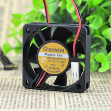 Free Shipping For SUNON GM1205PHVX-A DC 12V 1.9W 2-wire 2-pin connector 80mm 50x50x15mm Server Square Cooling Fan
