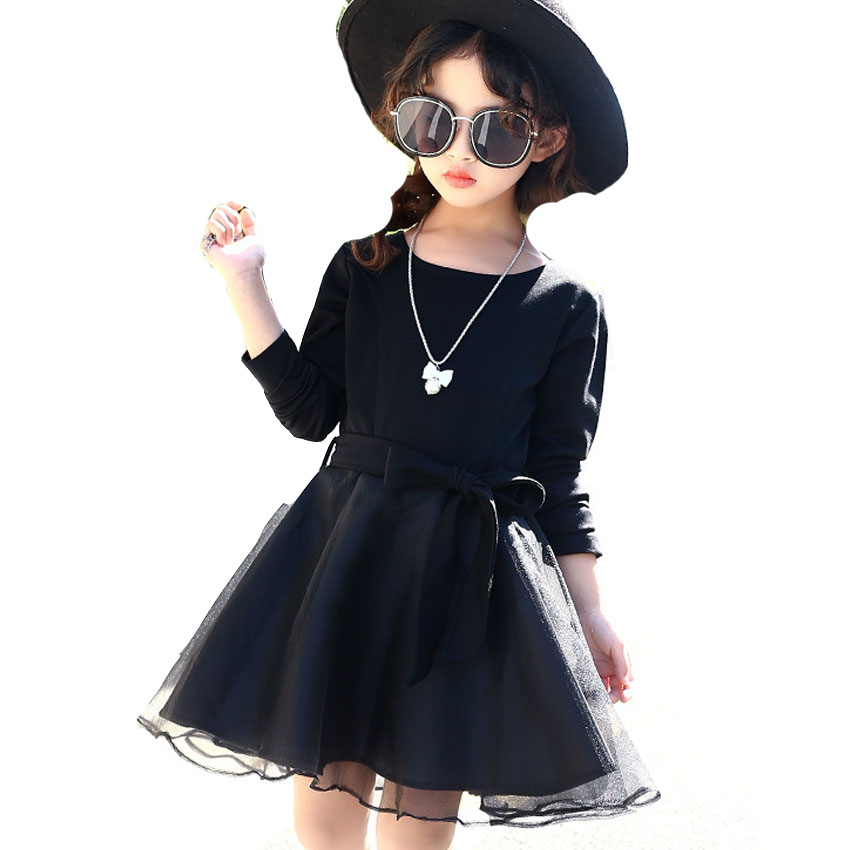 Children Princess Dresses For Girls Ball Gowns Long Sleeve Mesh Party Dresses Spring Autumn Bottoming Dress 2 3 5 7 9 11 12Years girls princess party dresses 4 long sleeve striped kids dresses for girls 6 preppy style bottoming dress 8 ball gowns 10 12years