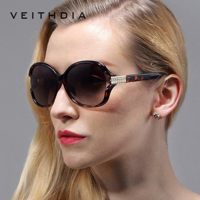 Retro TR90 Vintage Large Sun glasses Polarized Diamond Ladies Women Designer Sunglasses Outdoor Eyewear Accessories Female 7019