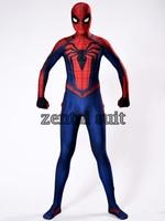 amazing Spiderman Classic costume 3D Print Spandex adult/kids halloween Spider man girl/men Superhero cosplay zentai body suit