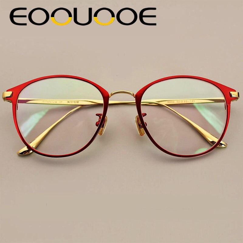 734c8d6635 Moda completa Gafas marco Marco de las mujeres de los hombres de marca de  diseñador de