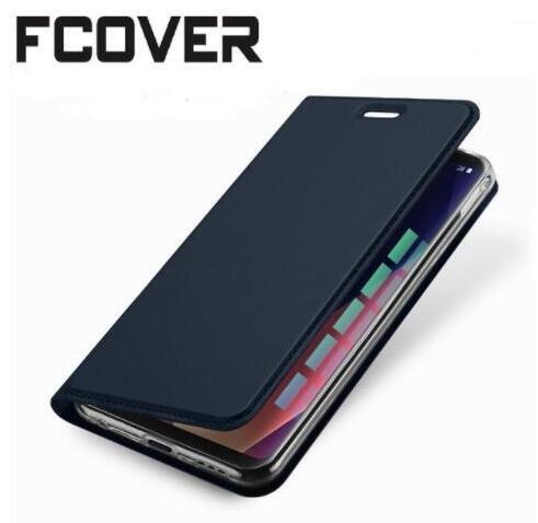 Cassa di Cuoio del raccoglitore Per Nokia 5 e Nokia 6 Caso di Vibrazione Magnetica Sottile Book Protettiva Shell Cover