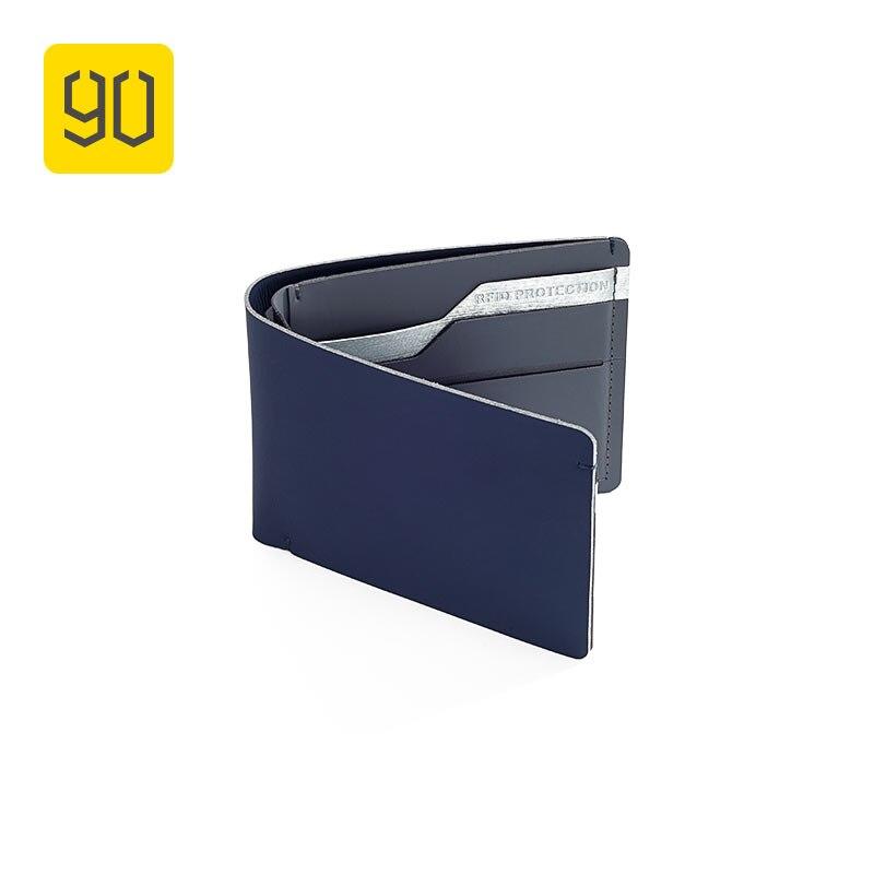 Xiaomi Ökosystem 90FUN RFID Sperrung Sicher Brieftasche Brieftasche, Karte Münze Halter