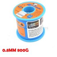MECHANIC 63/37 Tin Lead 0.8mm Diameter Rosin Core Flux Solder Wire Reel Welding Soldering Welding repairs essential 800g