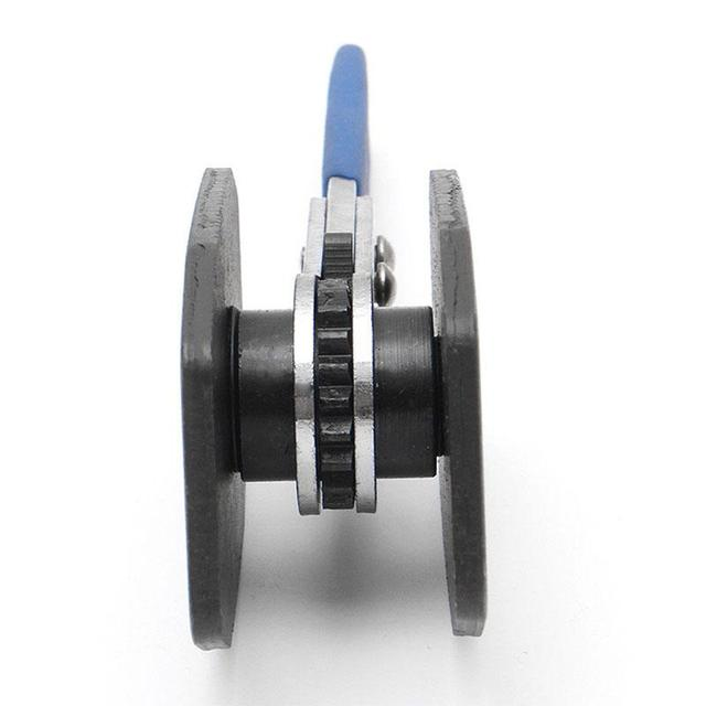 1 ud. Pinza de pistón de freno de trinquete de coche herramienta esparcidora pinza de freno de acero inoxidable prensa doble almohadilla separadora cuádruple