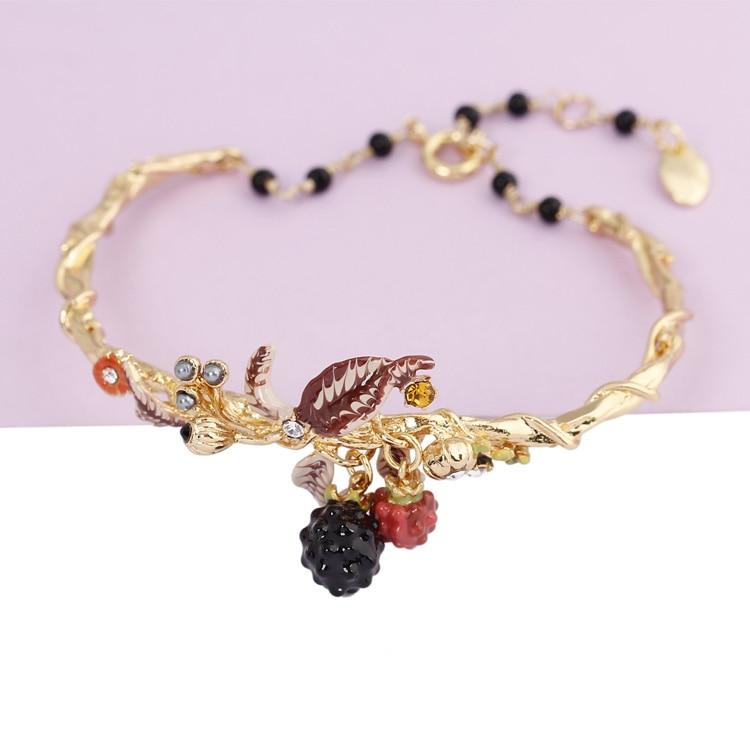 Bracelet framboise pour les filles
