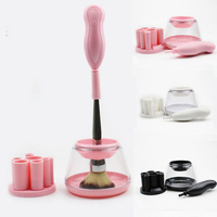 JS Makeup Brush Cleaner Convenient Silicone Make Up Brushes Cleanser Cleaning Tool Machine