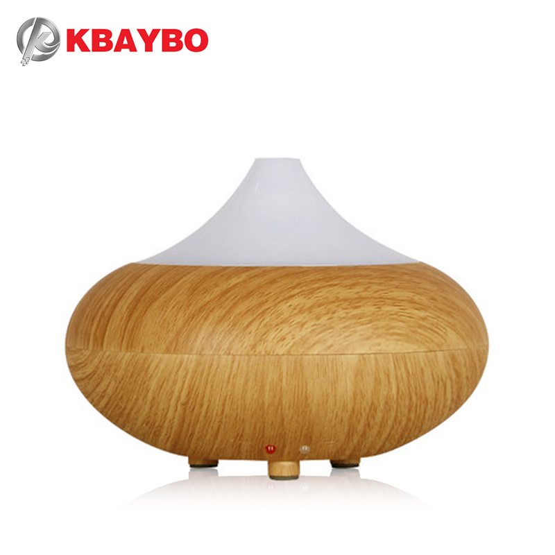 KBAYBO ultrasonic humidifier essential oil diffuser LED Light 7Color Change lamp Aromatherapy electric aroma diffuser mist maker ultrasonic air humidifier essential oil diffuser led light aromatherapy 7 color change electric aroma diffuser for home office