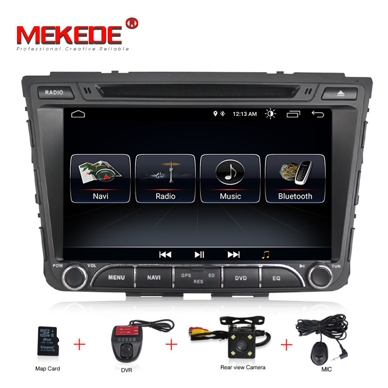 free shipping 8 1024x600 HD Quad 4Core Android 8.0 Car DVD For Hyundai Creta IX25 2014 18 with RAM GPS Radio Navigation