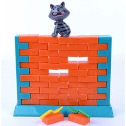 Brinquedos educativos Presentes de Aniversário do Gato Jogo Parede Interação Familiar Brinquedos Jogo de Tabuleiro Para Crianças