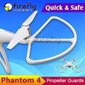 4 pcs Quick Release Phantom4 Hélice Guardas Anti-colisão Escudos Protetor de Hélice para DJI Fantasma 4/pro/pro +