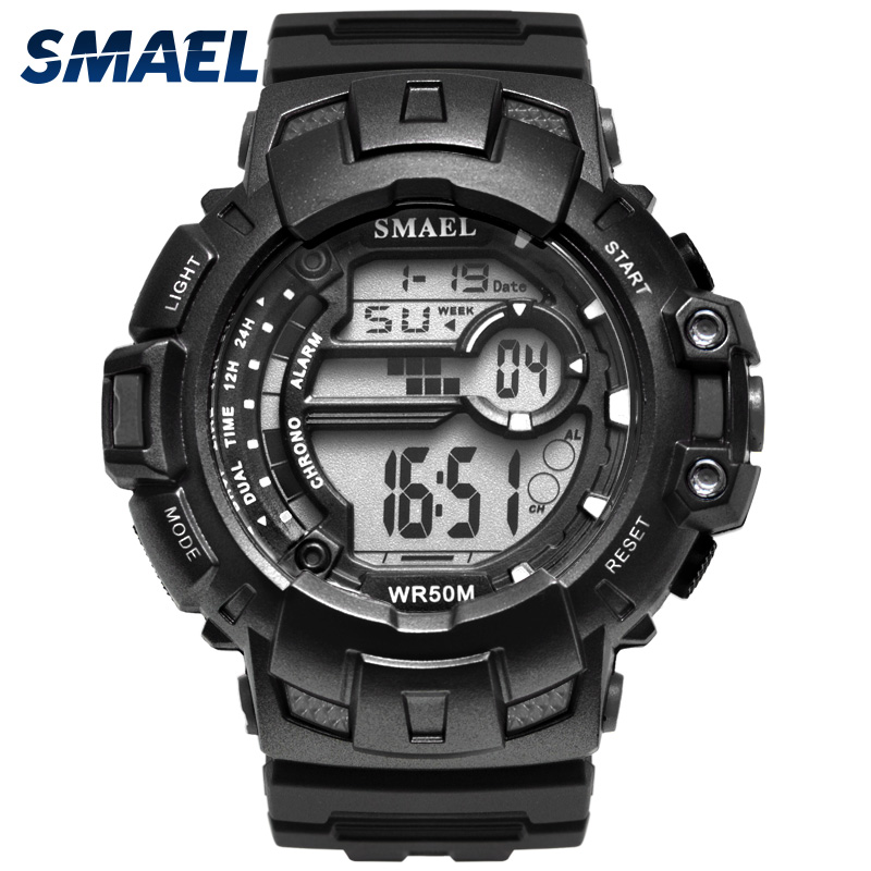 Men's Watches Watches 2018 New Military Watch Waterproof 50m S Shock Resitant Sport Watches Saat Digital Clock Men Military Army Big Men Watch Sport