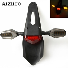 Motorcycle Part TailLight Dirt Bike Rear Fender Brake LED Tail Light For KTM SX XC XCW EXC XCF-W 65 85 125 150 200 250 300 400