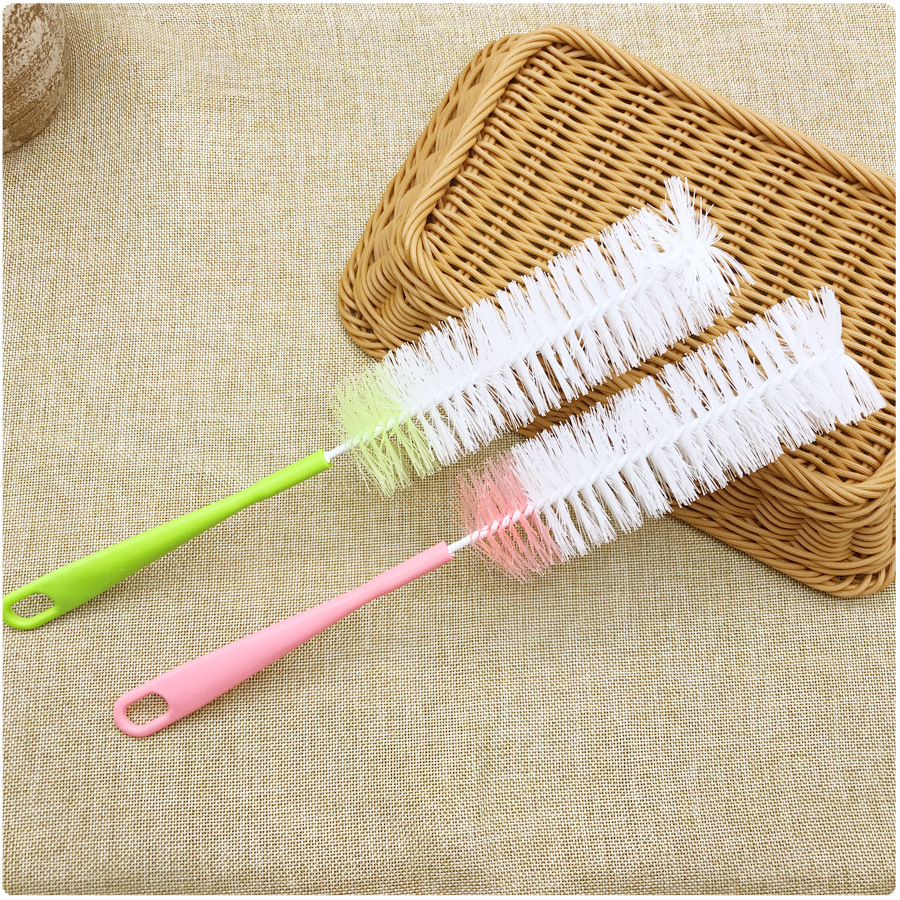 Baby Bottle Brushes Nipple Brushes Baby Feeding Bottle Feeding Bottle Brushes Teat New Cleaning Rotating Washing Cleaning Brush