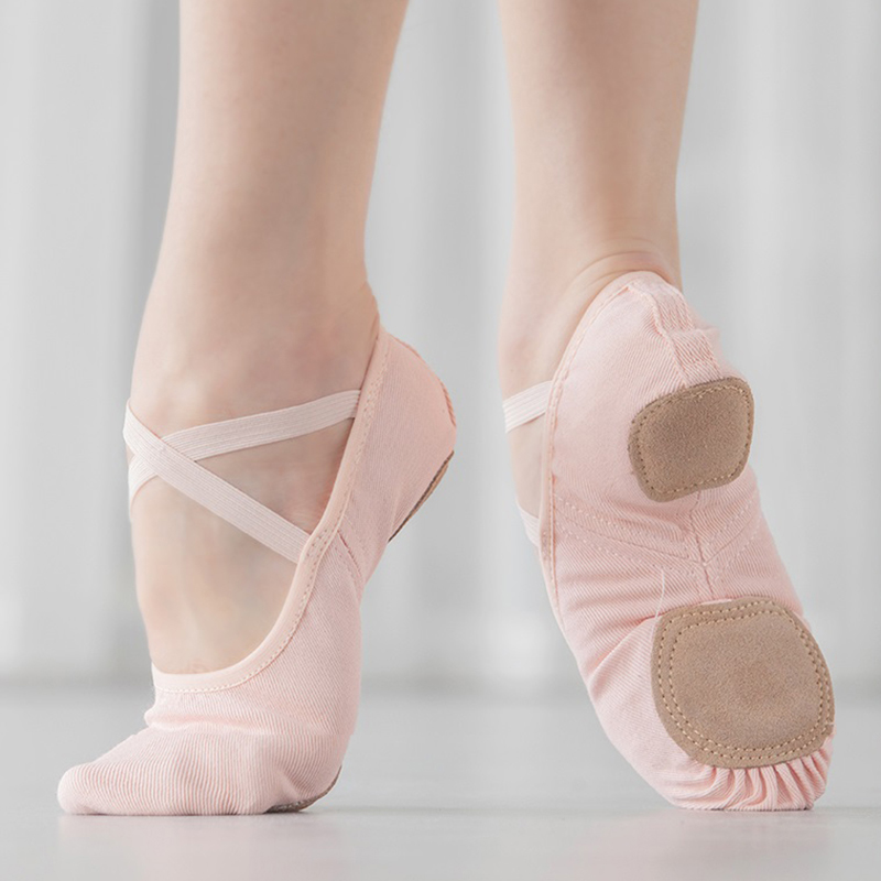 Shoes Women Ballet Shoes Stretch Dance Shoes Canvas Ballet Slippers For Kids Pointe Shoes Ballerina Soft Dance Slippers For Girl