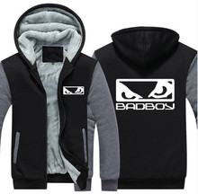 NEUE USA Größe MMA Badboy Bad Boy Unisex Hoodie Mantel Winter Fleece Verdicken Sweatshirts Jacke