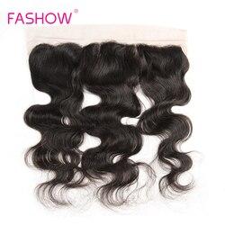 Cheveux brésiliens Remy Lace Frontal Closure, cheveux humains, oreille à oreille, Lace Frontal, 13x4, avec Baby Hair, 8 10 12 14 16 18 20 pouces