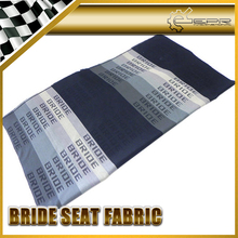Hot Pop Graduation Color Bride Car Seat Fabric Cover Cloth For Racing Car Seat 150cm x 80cm JDM GTR GTS RALLY DRIFT