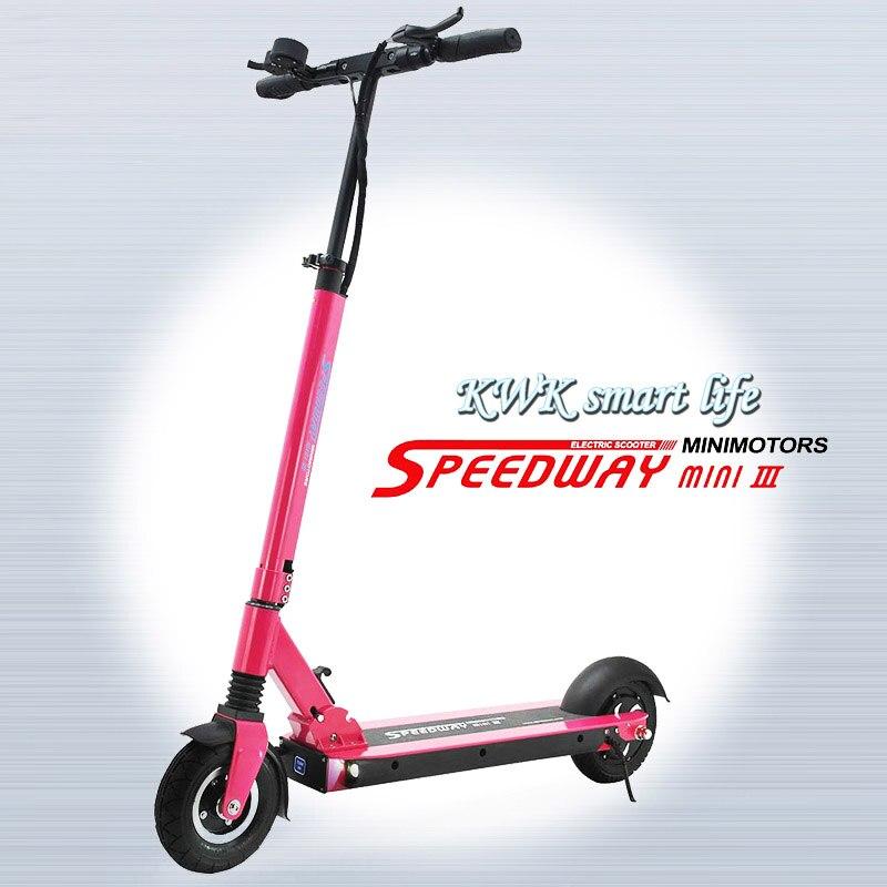 Prix pour 2016 nouveau 48 V 15.6A Speedway mini 3 BLDC HUB forte puissance électrique scooter Speedway mini III puissant scooter