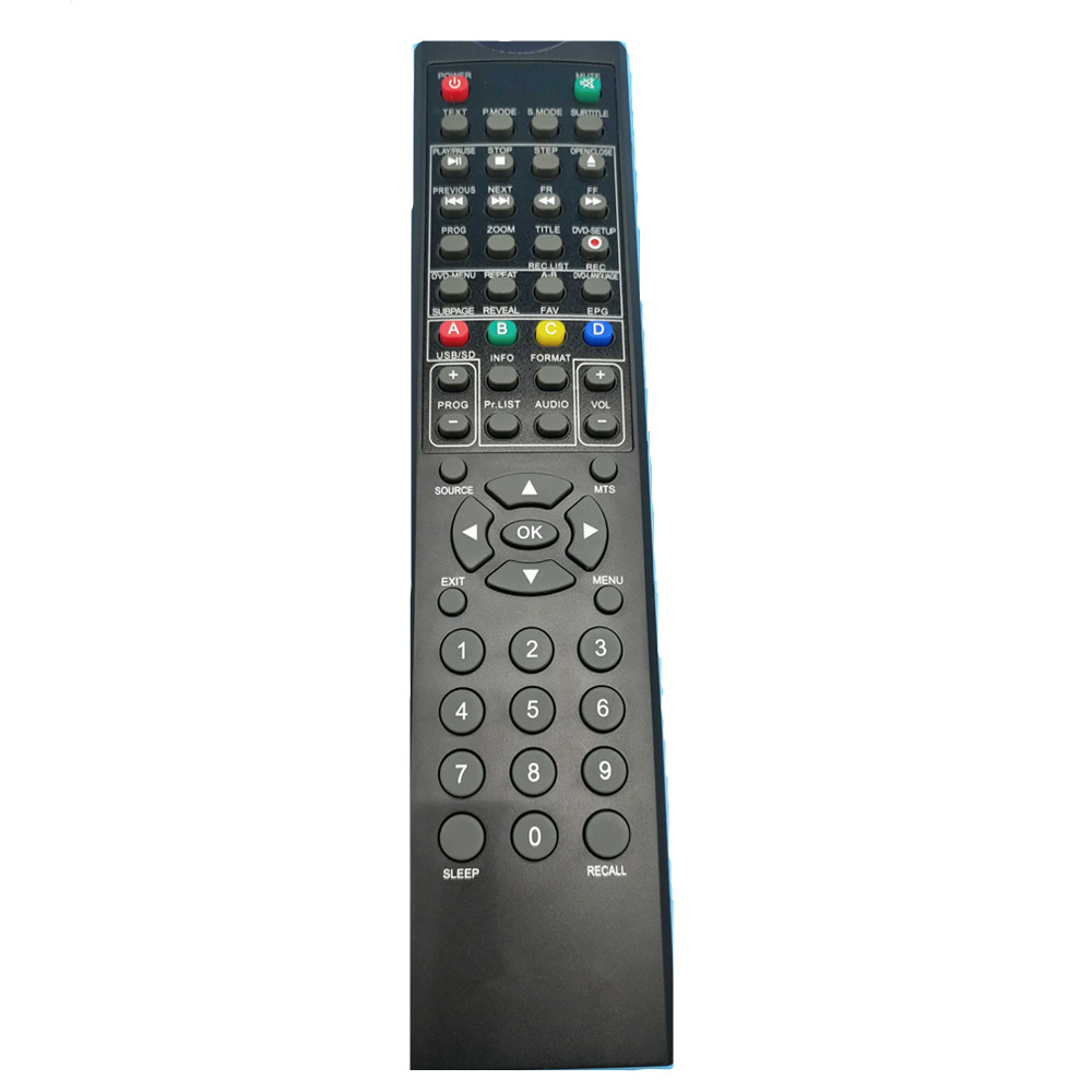 New remote control suitable for nuovo vivo viano LCD LED TV DVD player controller