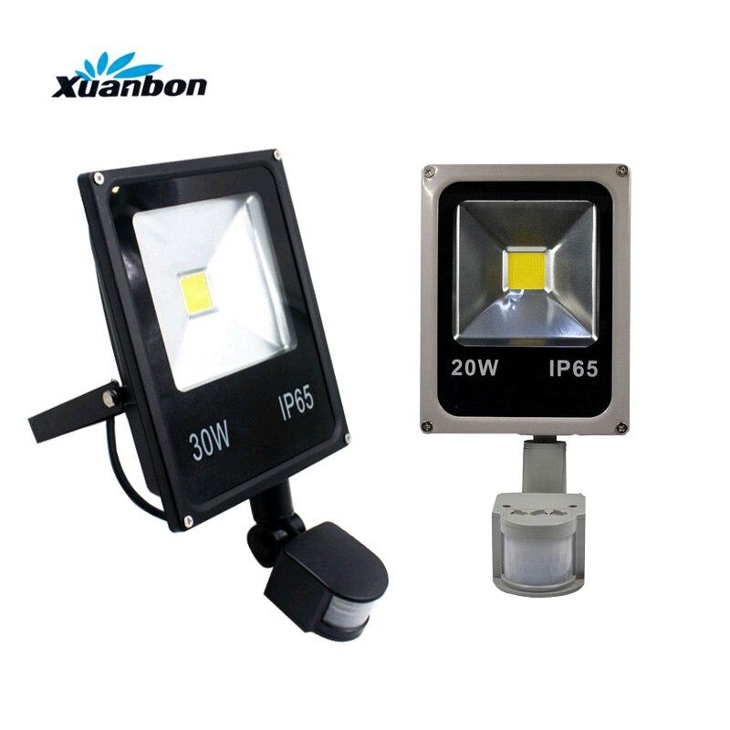 LED Outdoor Floodlight 10W 20W 30W 50W Floodlight Lamp IP65 Waterproof AC85-265V led Spotlight LED Outdoor Light Garden