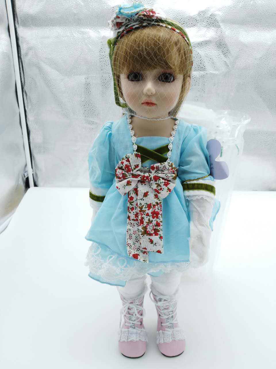Arrival 45cm Girl SD/BJD Doll Silicone reborn baby doll Realistic reborn Doll Alive Child Juguetes Christmas Gift Girl Doll