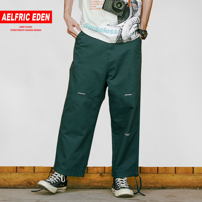 Analytical Aelfric Eden Fashion Harem Tactical Pants 2019 Spring New Arrival Letter Embroidery Mens Joggers Harajuku Casual Streetwear Mr10