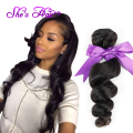 Natural Black Peruvian Loose Wave Virgin Hair 4 Bundles Cheap 7A Peruvian Virgin Hair Loose Wave Virgin Peruvian Hair Bundles