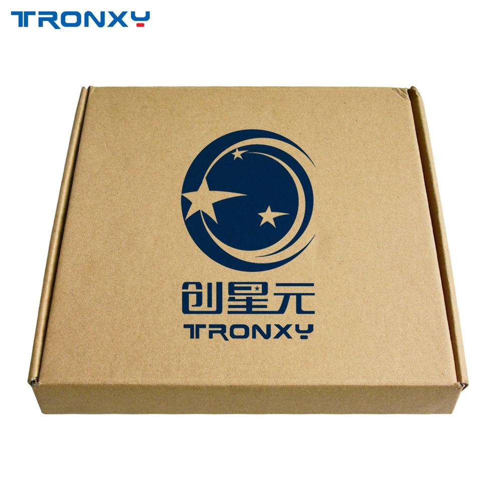 NOUVEAU Tronxy 3D Lit Chauffant D'imprimante Plaque de Verre 3d impression Plaque de Construction 220*220/330*330mm verre de Borosilicate - 2