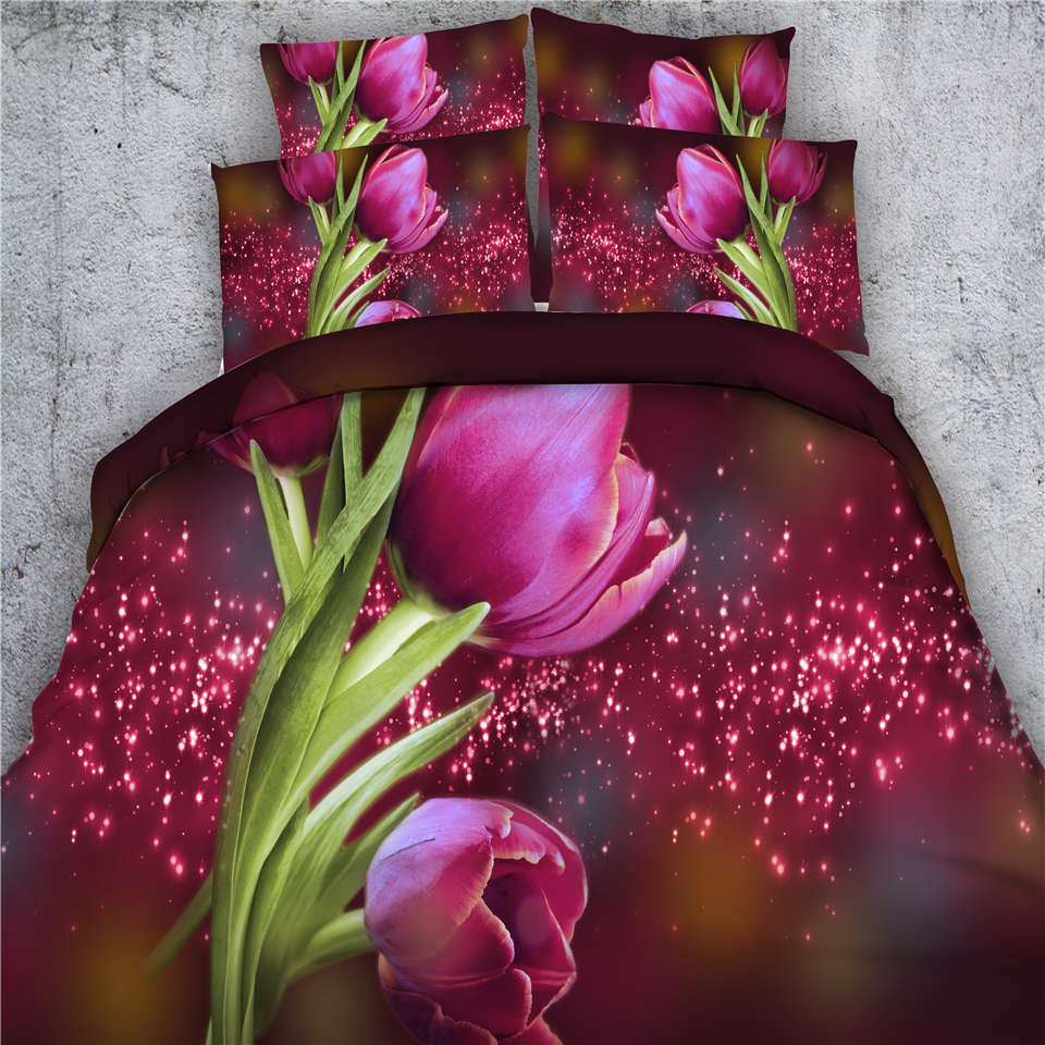 Buy pink flower bedspread Online with Free Delivery