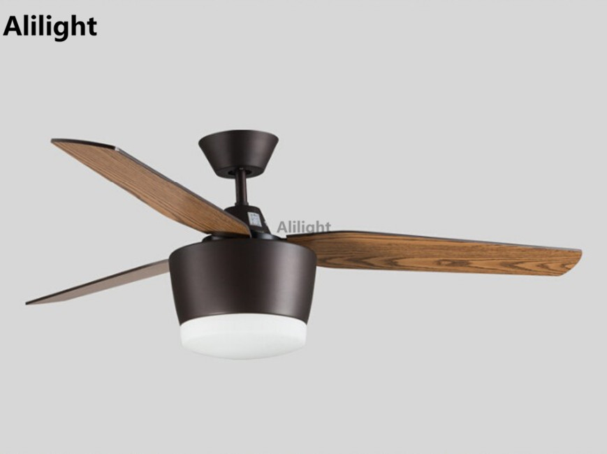 Creative Ceiling Fans With Light Hanging Lamp Individuality Iron Leaf Fan Lights Modern Simple