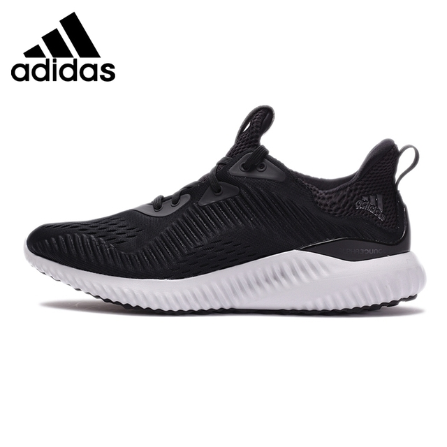 sports shoes 03657 3cbb6 Original New Arrival Adidas Alphabounce EM Unisex Running Shoes Sneakers