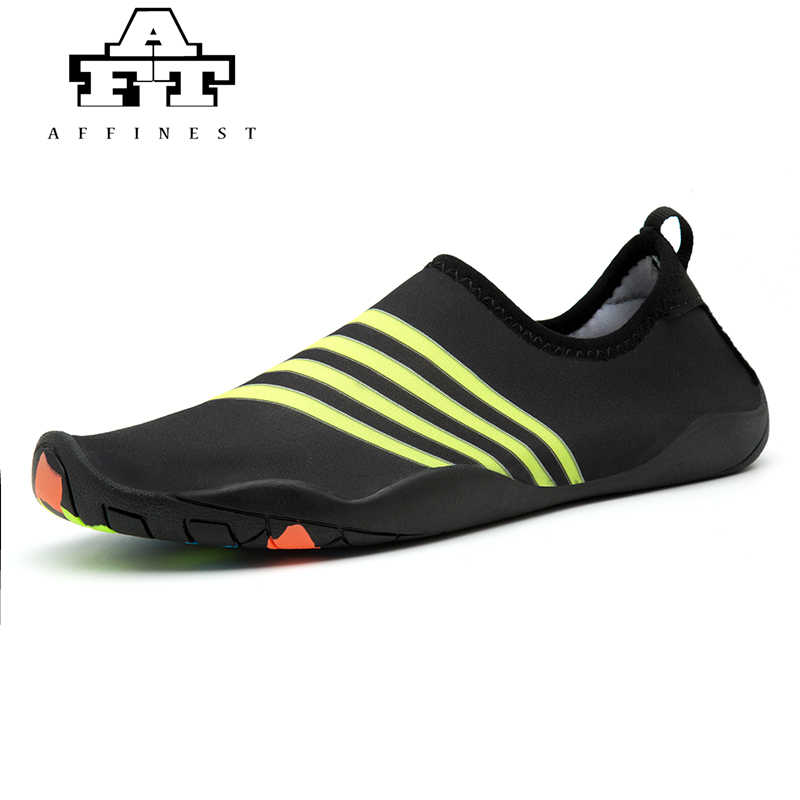 bad0bb07acd8 Detail Feedback Questions about AFFINEST Men Women Aqua Water Shoes ...