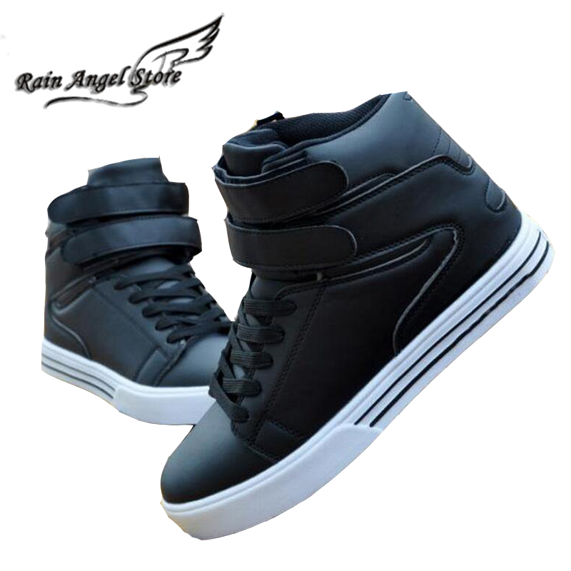 1111 Same Price Shoes Hip Hop Men Shoes British Style High Tops White Korean Fashion Casual Shoes Lace-up Sapatos Masculinos