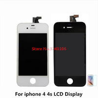 XIANHUAN Original Quality LCD Display Touch Screen Digitizer Frame Assembly For Iphone 4s 4 4g Replacement