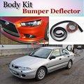 Deflector pára Lábio Lábios Para Mitsubishi Carisma Frente Spoiler Saia Para TopGear Amigos Carro Tuning Ver/Body Kit Asa/Strip